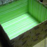 マスキングテープとクラフトテープで空き箱リメイク2 オリジナル収納ボックスの作り方