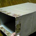 空き箱のナチュラル系リメイク3 失敗から学ぶ補強箇所。ひと手間が完成度を上げる。