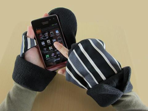 手が冷たい時の救世主、発案者が手放せない持手袋(もてぶくろ)の現状