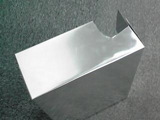 出張DIY!ブレーカーカバーを手作り4 アルミ板BOXの取り付け完了