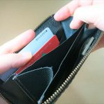 試作品の製作『ミニオーガナイザー』編  試作2号 ミニマムライフにはカードが取り出しやすい財布