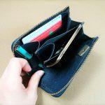 試作品の製作『ミニオーガナイザー』編  試作3号 コンパクト財布を使いやすく、さらに軽量化