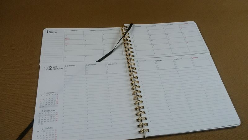 気に入ったスケジュール帳を手作りカバーで使いやすくアレンジ1 改良点の洗い出し