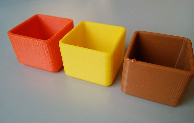 3Dプリンタでできること1 モードの違い比較とフィラメント目詰まり